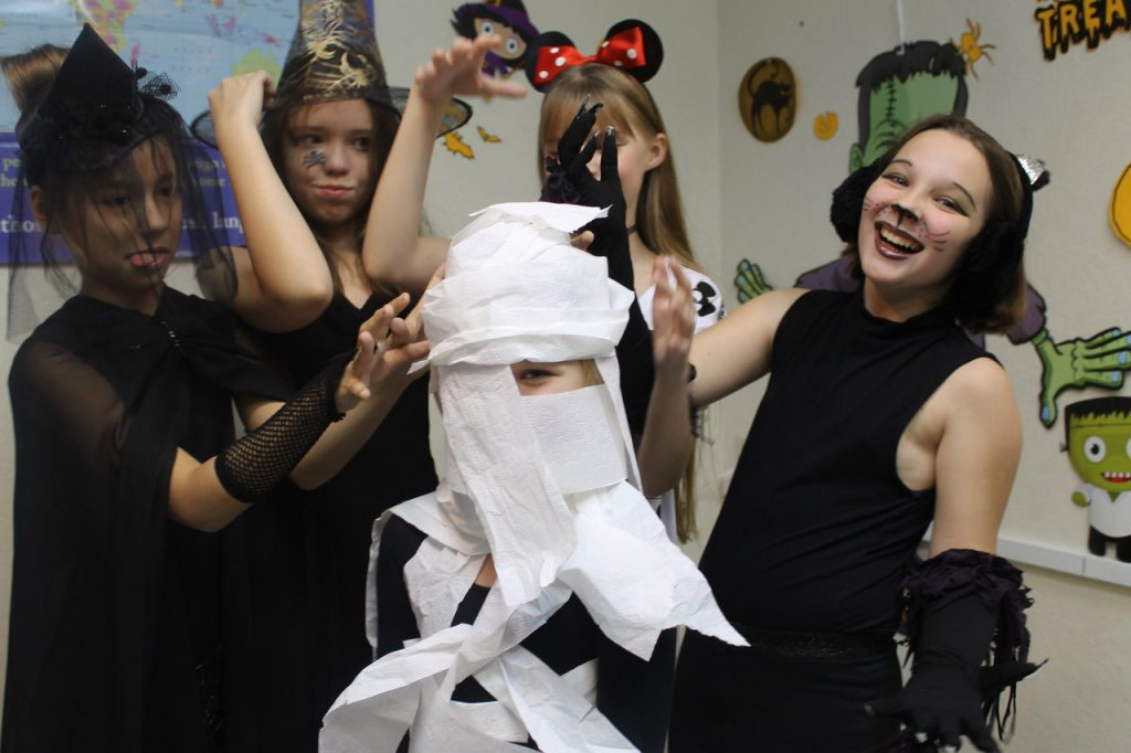 "Языковой центр ""iLLike"" Челябинск, Halloween"